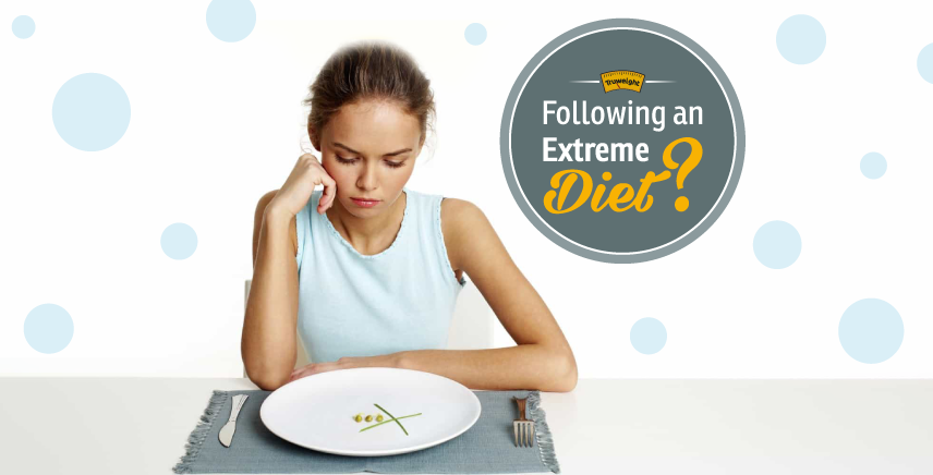 Extreme Weight Loss Diet: The Bane Of That Needs To Be Banished