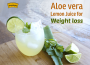 Get it right with aloe vera and lemon juice for weight loss