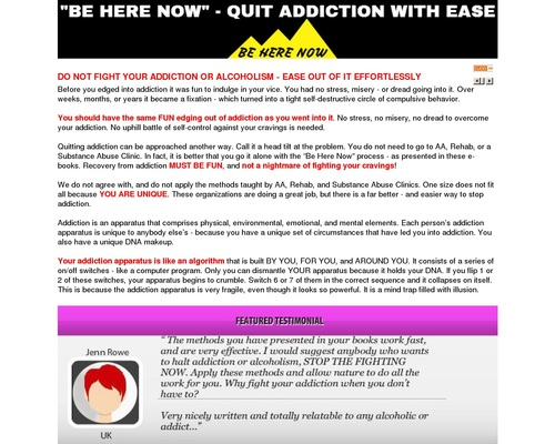How To Quit Addiction And Alcoholism Without Stress And Effort