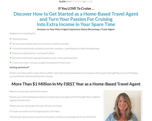 Become a Home-Based Travel Agent — Travel Agent Success