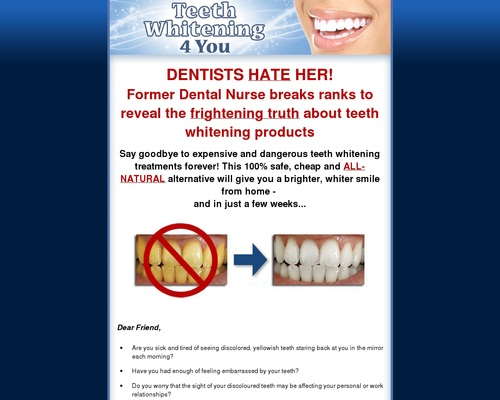 Teeth Whitening 4 You - How to Whiten Your Teeth Easily, Naturally & Forever!