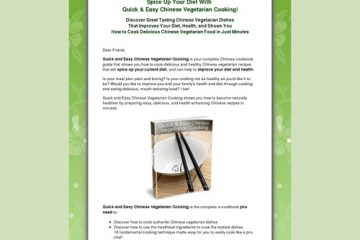 Chinese Vegetarian Cooking - Healthy, Low Fat Chinese Vegetarian Cookbook And Recipes