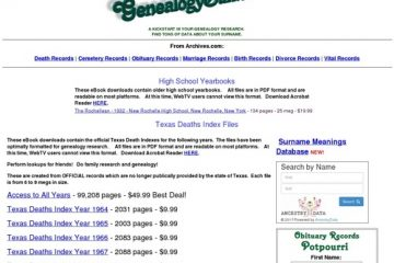 GenealogyBuff.com - Products and eBooks