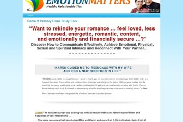 How To Make A Better Relationship at EmotionMatters Community
