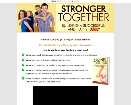 Stronger Together | How well do you get along with your family?