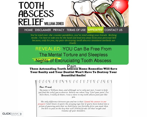 Tooth Abscess Relief - Your Tooth Abscess Reliefer