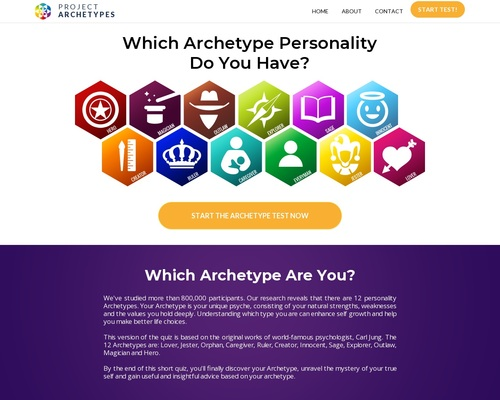 Project Archetypes | Discover Archetype Personality Now!