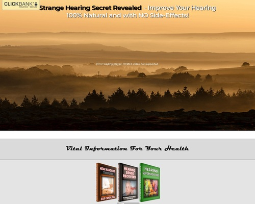 Hearing Sense Recovery - Official Website