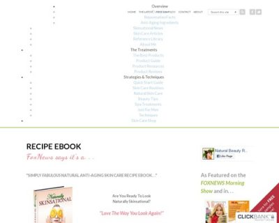 Recipe eBook | Natural Anti-Aging Skin Care