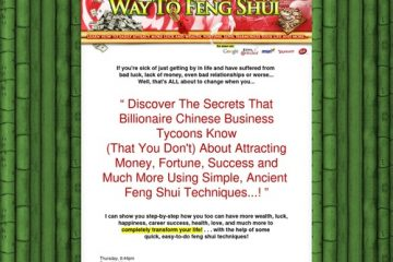 Feng Shui Secrets That Will Change Your life! Learn how to live the life you want...